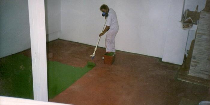 Pintura suelo garaje good pintar taller pintura talleres for Pintura para suelos de garaje