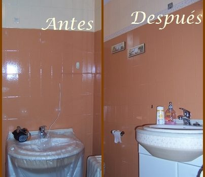 antes y despues pintura