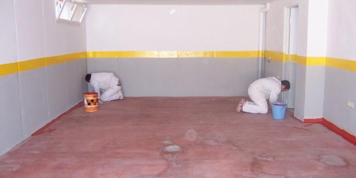 Pintura de garaje free pintura with pintura de garaje - Pinturas para garajes ...